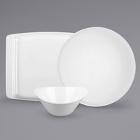 Syracuse China Chef's Selection Aluma White Porcelain Dinnerware