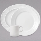 Syracuse China Constellation Lunar Bright White Porcelain Dinnerware