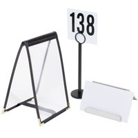 sc 1 st  WebstaurantStore & Tabletop Signs | Table Signs