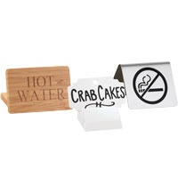 table cards table plaques webstaurantstore