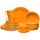 Homer Laughlin Tangerine Fiesta Dinnerware
