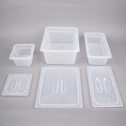 Translucent Regular Temperature Plastic Food Pans & Lids