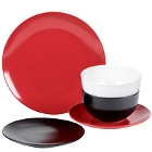 10 Strawberry Street Wazee Matte Stoneware Dinnerware