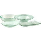 10 Strawberry Street Tahoe Glass Dinnerware