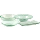 10 Strawberry Street Tahoe Glass Dinnerware