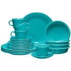 Turquoise Homer Laughlin Fiesta Dinnerware