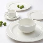 Tuxton AlumaTux San Marino Pearl White China Dinnerware
