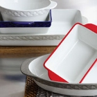 Tuxton DisplayTux Porcelain White Dinnerware