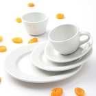 Tuxton Alaska Bright White China Dinnerware