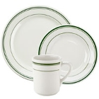 Tuxton Green Bay Ivory (American White) China Dinnerware