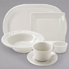 Tuxton DuraTux Ivory China Dinnerware