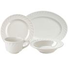 Tuxton Meridian Ivory China Dinnerware