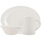 Tuxton Reno / Nevada Ivory (American White) China Dinnerware