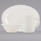 Tuxton Reno / Nevada Ivory China Dinnerware