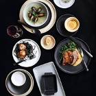 Tuxton TuxTrendz Zion China Dinnerware
