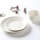 Tuxton Venice Ivory (American White) China Dinnerware