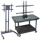 Flat Screen TV Stands, TV Carts, and Flat Panel Mounts