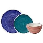 Villeroy & Boch Artesano Ocean Colorful Porcelain Dinnerware