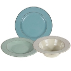 Elite Global Solutions Vintage California Melamine Dinnerware