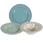 Elite Global Solutions Vintage California Melamine Dinnerware