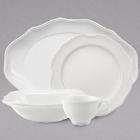 Villeroy & Boch La Scala White Porcelain Dinnerware