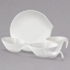 Villeroy & Boch White Flow Dinnerware