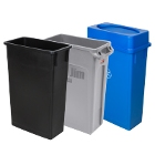 Wall Hugger/Slim Trash Cans
