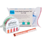 Water, Frying Oil, and Temperature Test Strips