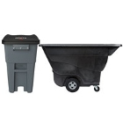 Wheeled Trash Cans, Tilt Trucks, and Cube Trucks