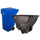 Wheeled Trash Cans and Tilt Trucks