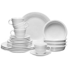White Homer Laughlin Fiesta Dinnerware