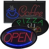 door signs led open signs led restaurant signs