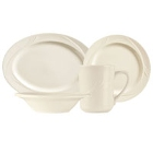 World Tableware Endurance Cream White China Dinnerware