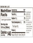 Ruby Kist 10 oz Orange Nutrition