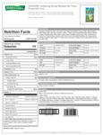 Hidden Valley 1.5 oz. Golden Honey Mustard Dressing Packet Nutrition Information
