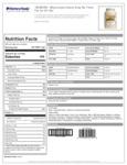 Heavy Duty Mayonnaise Nutrition Information