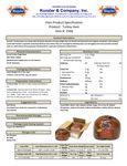 871KNZ2568 Nutrition