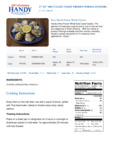 Handy 100 Count Whole East Coast Oysters Nutrition Information