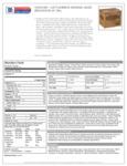 Cattlemen's Original BBQ 4/1 gal Nutrition