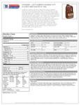 Cattlemen's Kansas City BBQ 4/1 Gal Nutrition