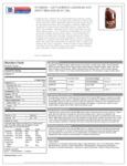 Spec Sheet / Nutrition