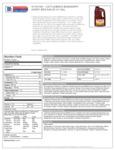 Cattlemen's Mississippi Honey BBQ 4/1 Gal Nutrition