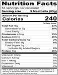 871DVF6016 Nutrition