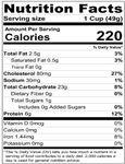 Homemade Kluski Noodles Nutrition