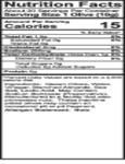 Belosa 12 oz. Gourmet Almond Stuffed Queen Olives Nutrition Information