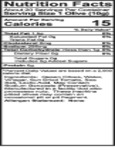 Belosa 12 oz. Gourmet Bloody Mary Flavored Queen Olives Nutrition Information