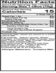 Belosa 32 oz. Gourmet Bleu Cheese Stuffed Queen Olives Nutrition Information