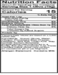 Belosa 12 oz. Gourmet Bleu Cheese & Habanero Pepper Stuffed Queen Olives Nutrition Information