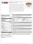 Cattlemen's 1.5 oz Kansas City Barbecue Sauce Nutrition Information
