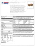Cattlemen's 1.5 Gallon Memphis Barbecue Sauce Nutrition Information